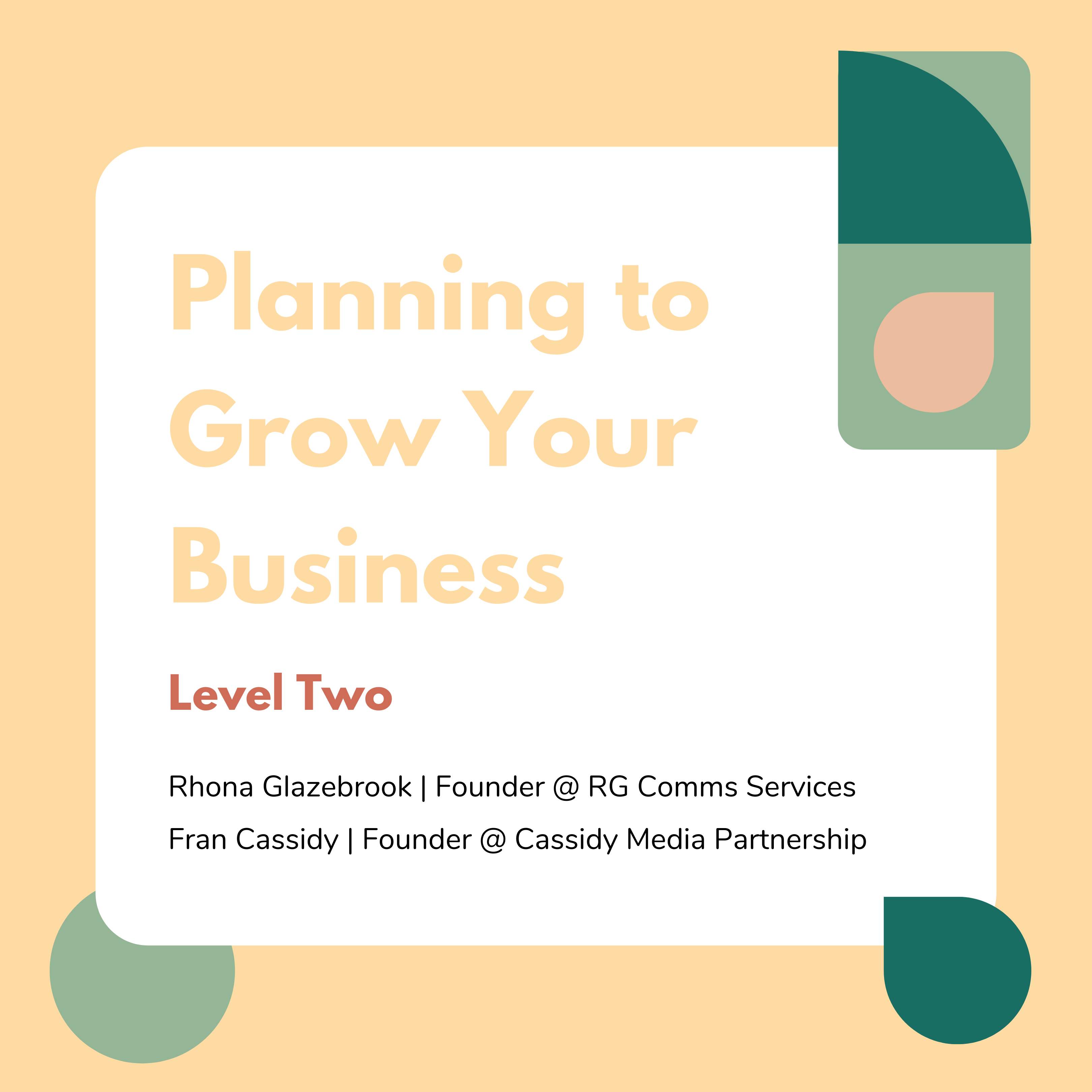 Planning to Grow Your Business